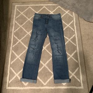 Chaps mom jeans